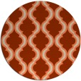 rug #756399 | round traditional rug