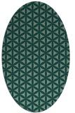 rug #757463 | oval circles rug