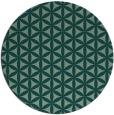 rug #758167 | round geometry rug