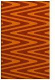 rug #759625 |  red-orange rug