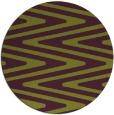rug #759949 | round green rug