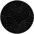 rug #764993 | round black rug