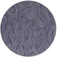 rug #770349 | round blue-violet rug