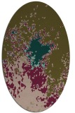 rug #773197 | oval graphic rug