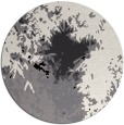 rug #774053 | round black abstract rug
