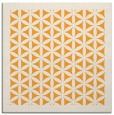 rug #812921 | square light-orange rug