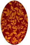 rug #817641 | oval natural rug