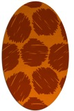 rug #820486 | oval circles rug