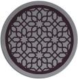 rug #855143   round purple rug