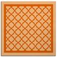 rug #857519 | square red-orange rug