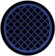 rug #858431 | round black rug