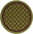 rug #858495   round purple rug