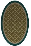 rug #862751 | oval traditional rug