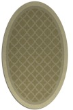 rug #862959 | oval light-green rug