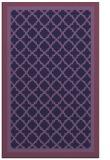 rug #863071 |  blue-violet rug