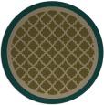 rug #863423   round borders rug
