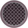 rug #863543   round purple rug