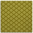 rug #880155 | square light-green rug