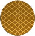 rug #881203   round light-orange rug