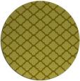 rug #881211 | round light-green rug