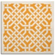 rug #885463 | square light-orange rug