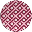 rug #887923   round red rug