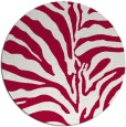 rug #889008   round red rug