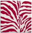 rug #889016 | square red rug