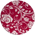 rug #890068   round red rug