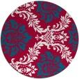rug #892648   round red rug
