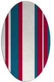 rug #893980 | oval flags rug