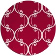 rug #894088   round red rug