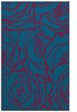 rug #896749 |  blue-green rug