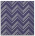 rug #902657 | square blue-violet rug