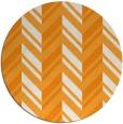 rug #903997 | round light-orange rug