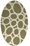 rug #906552   oval circles rug