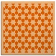 rug #910033 | square red-orange rug