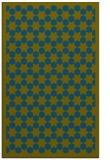 rug #910565 |  blue-green rug