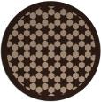 rug #910860   round borders rug