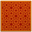 rug #911817 | square red rug