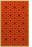 rug #912537 |  orange rug