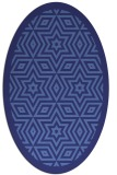 rug #917615 | oval graphic rug