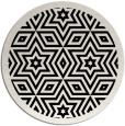 rug #918049   round black rug