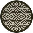 rug #918225   round borders rug