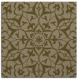 rug #920681   square mid-brown rug