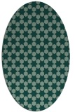 rug #923051 | oval graphic rug