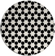 rug #923449   round black rug