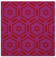 rug #926225 | square red rug