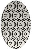 rug #926606 | oval circles rug