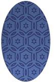 rug #926616 | oval damask rug